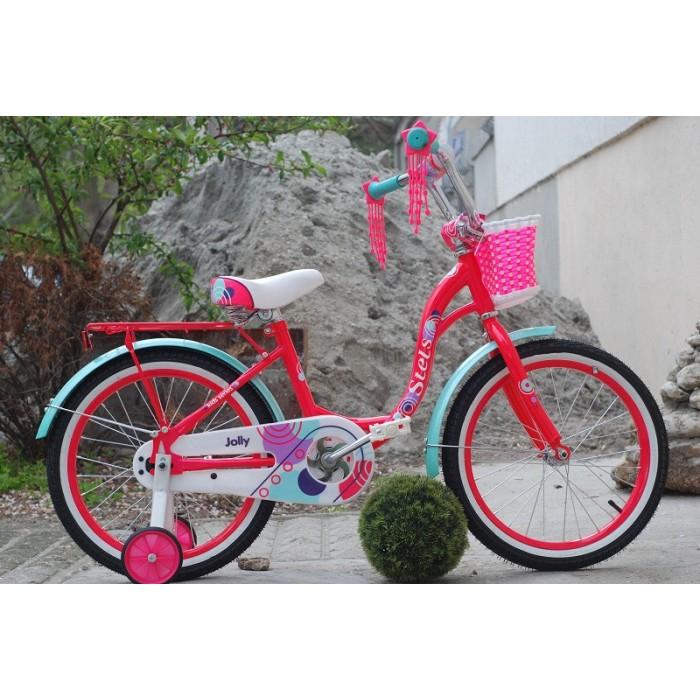"""Детский велосипед STELS Jolly 18"""" V010 (розовый, 2020) купить в Минске"""