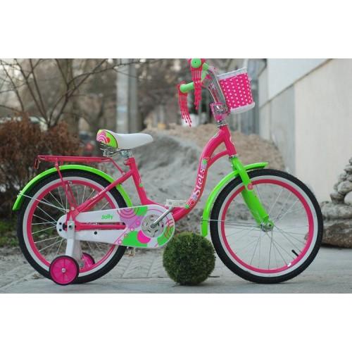 "Детский велосипед STELS Jolly 18"" V010 (пурпурный, 2020)"