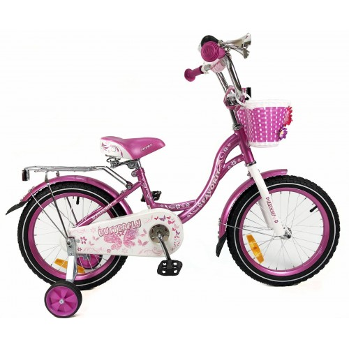 "Велосипед Favorit Butterfly 18"" (фиолетовый, 2020)"