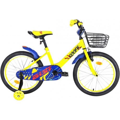 """Велосипед Aist Goofy 12"""" (желтый, 2020)"""