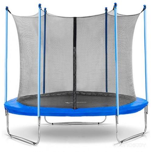 Батут Bebon Sports 8ft (244 см) с внутренней сеткой и лестницей