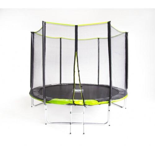 Батут Fitness Trampoline GREEN 252 см - 8 FT Extreme