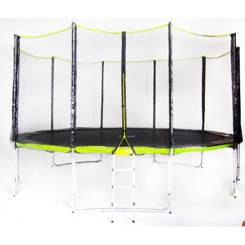 Батут Fitness Trampoline GREEN 457 см - 15 FT Extreme