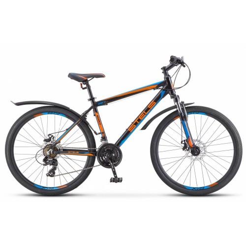 """Велосипед Stels Navigator 620 MD 26"""" V010 (черный/синий, 2019)"""