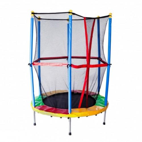 Батут Sundays Acrobat 150 см — 5ft с внешней сеткой и лестницей