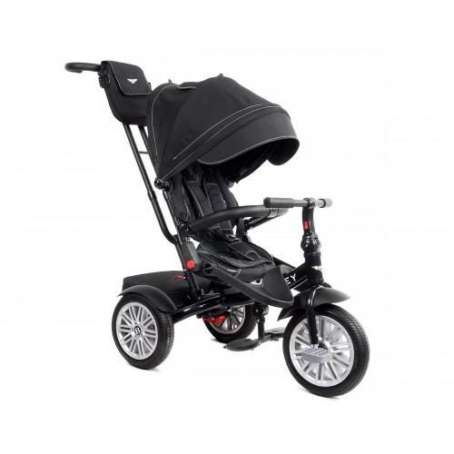 Детский трехколесный велосипед Bentley BN2 (черный)