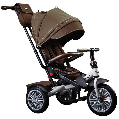 Детский трехколесный велосипед Bentley BN2 (коричневый)