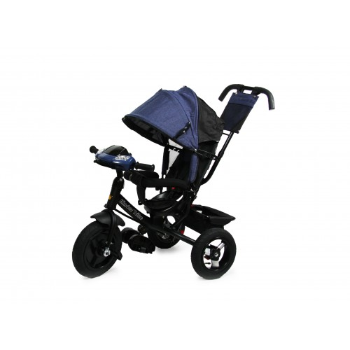 Детский трехколесный велосипед Kinder Trike Expert (синий)