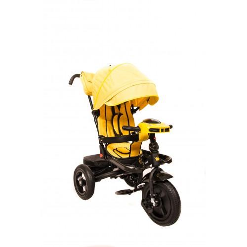 Детский трехколесный велосипед Kinder Trike Comfort (желтый)