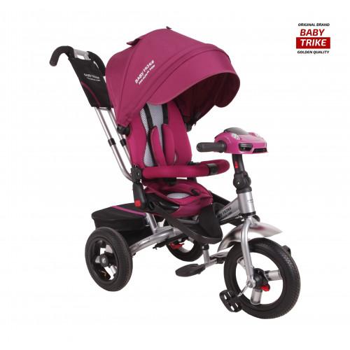 Детский трехколесный велосипед Baby Trike Premium Original (фиолетовый, 2019)