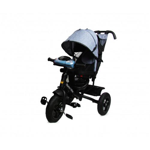 Детский трехколесный велосипед Kinder Trike Expert (серый)
