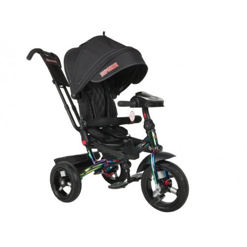 Детский трехколесный велосипед Trike Super Formula, ХАМЕЛИОН (Bluetooth и USB выход)