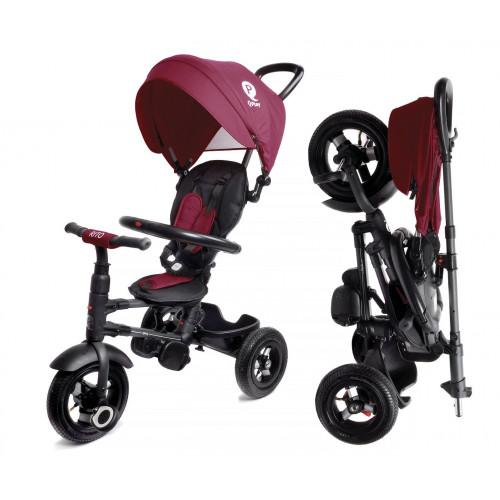 Детский трехколесный велосипед QPlay Rito QA6 (бордовый)