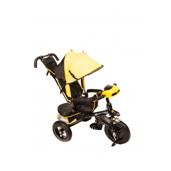 Детский трехколесный велосипед Kinder Trike Classic (желтый)