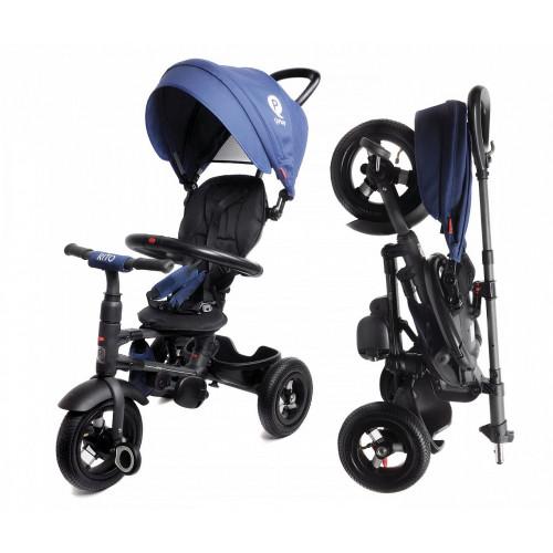 Детский трехколесный велосипед QPlay Rito QA6 (синий)