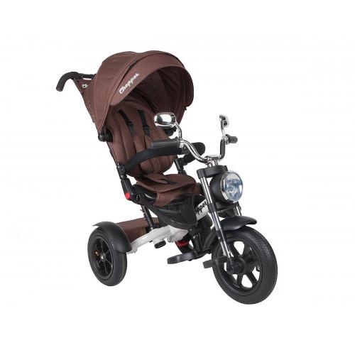 Детский трехколесный велосипед Chopper CH1 (коричневый)