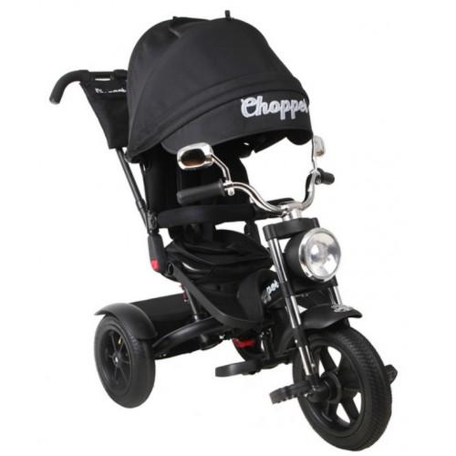 Детский трехколесный велосипед Chopper CH1 (черный матовый)