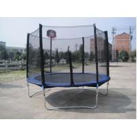 Батут Funfit (Фанфит) 252 см - 8ft с баскетбольным кольцом, сеткой и лестницей купить в Минске