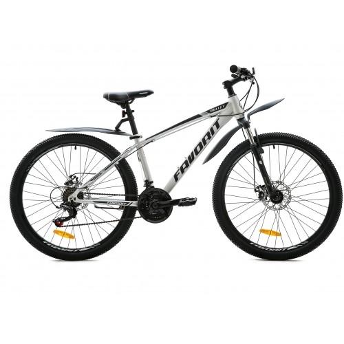 "Велосипед Favorit Bullet MD 26"" (серый, 2020)"