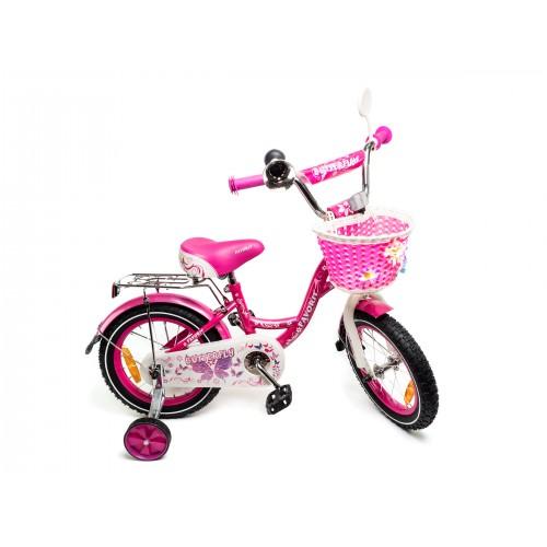 "Велосипед Favorit Butterfly 14"" (розовый, 2019)"