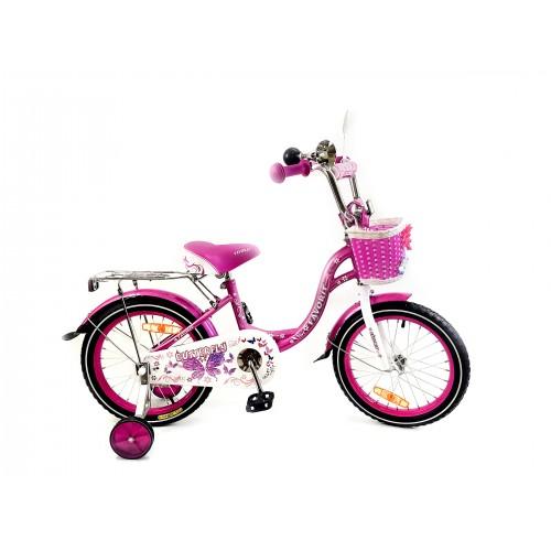 "Велосипед Favorit Butterfly 16"" (розовый, 2020)"