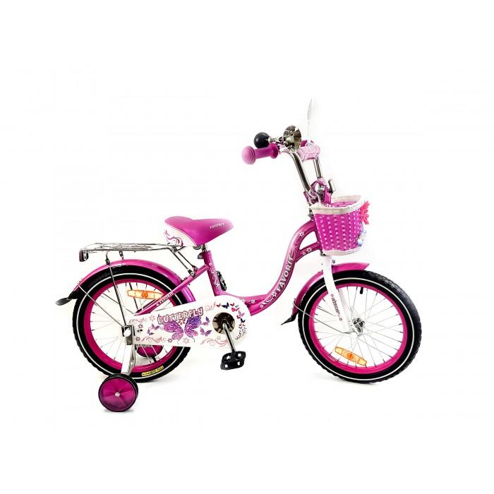 """Велосипед Favorit Butterfly 16"""" (розовый, 2020)  купить в Минске"""