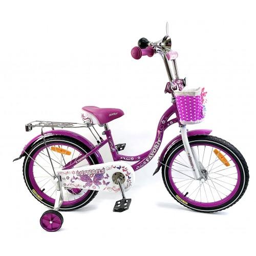 "Велосипед Favorit Butterfly 16"" (фиолетовый, 2020)"